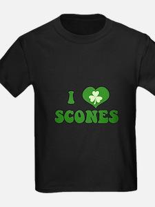 I Love Scones T