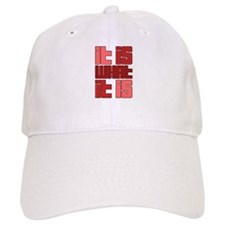 Red - It Is What It Is Baseball Cap