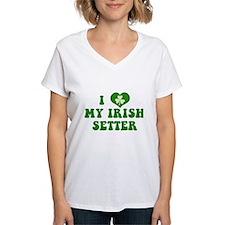 I Love My Irish Setter Shirt