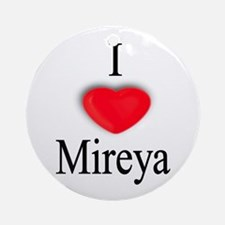 Mireya Ornament (Round)