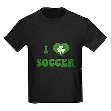 I Love Soccer T