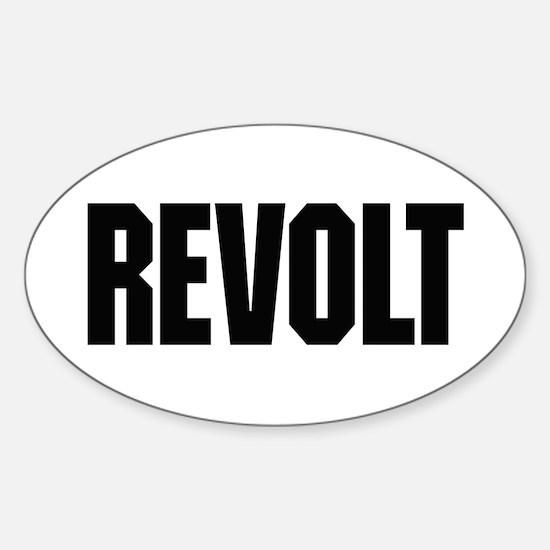 Revolt Sticker (Oval)