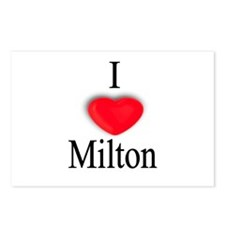 Milton Postcards (Package of 8)
