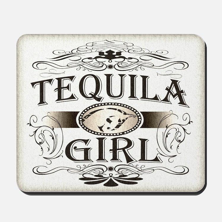 Tequila Girl Buckle Mousepad