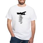 Drop the F Bomb White T-Shirt