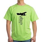 Drop the F Bomb Green T-Shirt