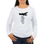 Drop the F Bomb Women's Long Sleeve T-Shirt