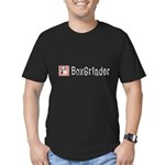 BoxGrinder Men's Fitted T-Shirt (dark)