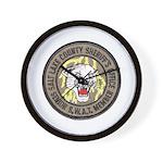 Salt Lake County SWAT Wall Clock