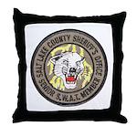 Salt Lake County SWAT Throw Pillow