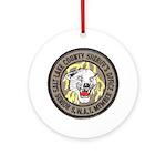 Salt Lake County SWAT Ornament (Round)