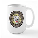 Salt Lake County SWAT Large Mug