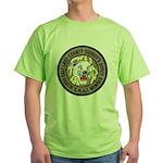 Salt Lake County SWAT Green T-Shirt
