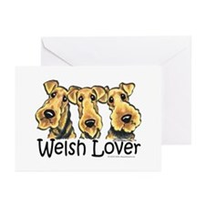 Welsh Terrier Lover Greeting Cards (Pk of 10)