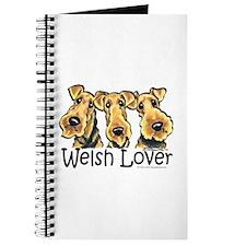 Welsh Terrier Lover Journal