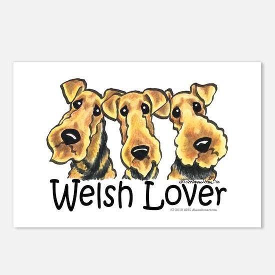Welsh Terrier Lover Postcards (Package of 8)