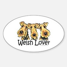Welsh Terrier Lover Decal