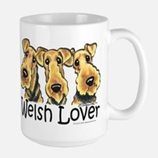 Welsh Terrier Lover Large Mug