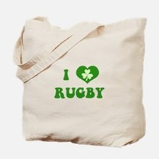 I Love Rugby Tote Bag