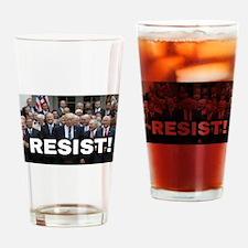 RESIST! Drinking Glass