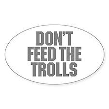 Feed Trolls Decal