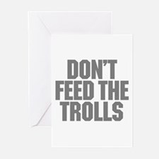 Feed Trolls Greeting Cards (Pk of 20)