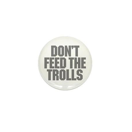 Feed Trolls Mini Button (100 pack)
