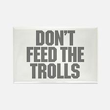 Feed Trolls Rectangle Magnet (10 pack)