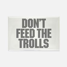 Feed Trolls Rectangle Magnet