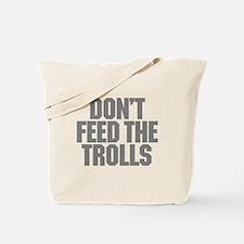 Feed Trolls Tote Bag