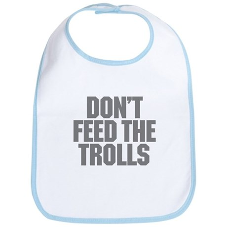 Feed Trolls Bib