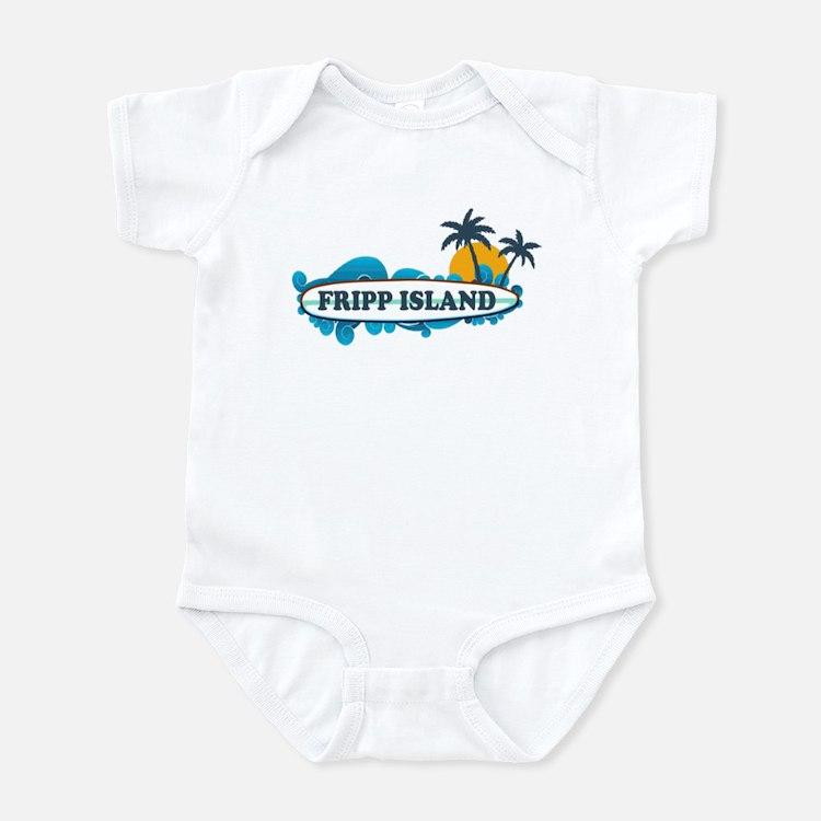Fripp Island SC - Surf Design Infant Bodysuit