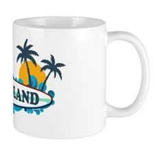 Fripp Island SC - Surf Design Mug