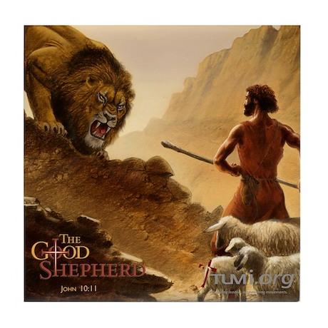 The Good Shepherd Tile Coaster