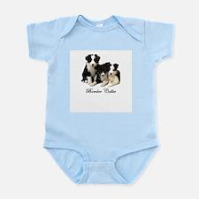 Border Collie Puppies Infant Creeper