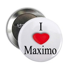 """Maximo 2.25"""" Button (10 pack)"""