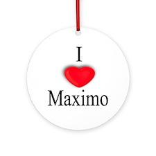 Maximo Ornament (Round)