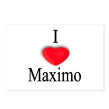 Maximo Postcards (Package of 8)
