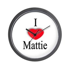 Mattie Wall Clock