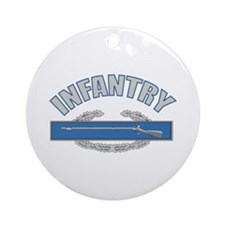 INFANTRY Ornament (Round)