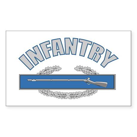 INFANTRY Sticker (Rectangle)