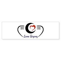 LunaQigong Logo Bumper Sticker