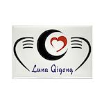 LunaQigong Logo Rectangle Magnet