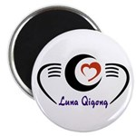 LunaQigong Logo Magnet