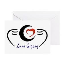 LunaQigong Logo Greeting Cards (Pk of 20)