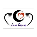 LunaQigong Logo Mini Poster Print
