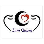 LunaQigong Logo Small Poster