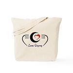 LunaQigong Logo Tote Bag