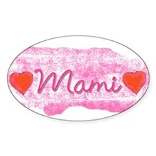 Mami Oval Decal