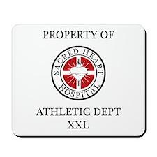 Sacred Heart Athletic Dept. Mousepad